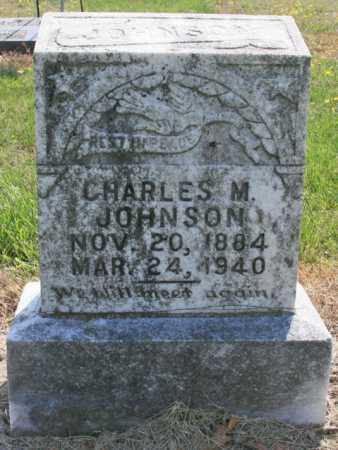 JOHNSON, CHARLES MILTON - Benton County, Arkansas | CHARLES MILTON JOHNSON - Arkansas Gravestone Photos