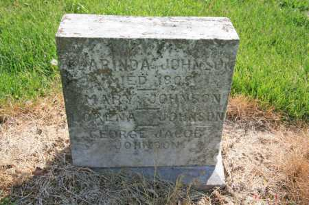 JOHNSON, GEORGE JACOB - Benton County, Arkansas | GEORGE JACOB JOHNSON - Arkansas Gravestone Photos