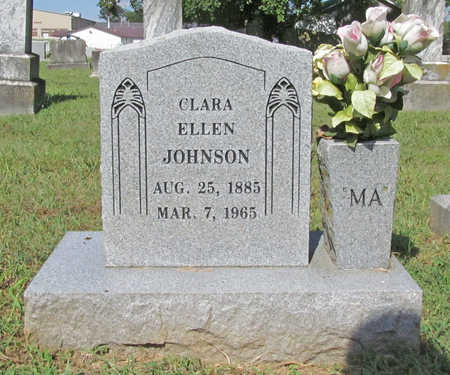 JOHNSON, CLARA ELLEN (2) - Benton County, Arkansas | CLARA ELLEN (2) JOHNSON - Arkansas Gravestone Photos