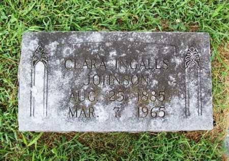 INGALLS JOHNSON, CLARA ELLEN (1) - Benton County, Arkansas | CLARA ELLEN (1) INGALLS JOHNSON - Arkansas Gravestone Photos