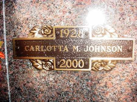 "ROSE JOHNSON, CARLOTTA MARIE ""LOTTIE"" - Benton County, Arkansas 