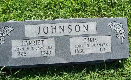 JOHNSON, HARRIET - Benton County, Arkansas | HARRIET JOHNSON - Arkansas Gravestone Photos