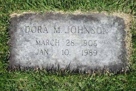 JOHNSON, DORA M. - Benton County, Arkansas | DORA M. JOHNSON - Arkansas Gravestone Photos