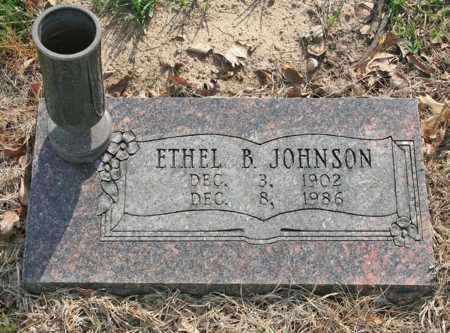 JOHNSON, ETHEL B. - Benton County, Arkansas | ETHEL B. JOHNSON - Arkansas Gravestone Photos