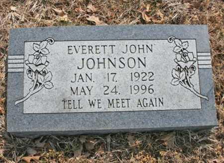 JOHNSON, EVERETT JOHN - Benton County, Arkansas | EVERETT JOHN JOHNSON - Arkansas Gravestone Photos