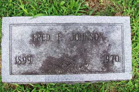 JOHNSON, FRED F. - Benton County, Arkansas | FRED F. JOHNSON - Arkansas Gravestone Photos