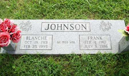 JOHNSON, BLANCHE - Benton County, Arkansas | BLANCHE JOHNSON - Arkansas Gravestone Photos