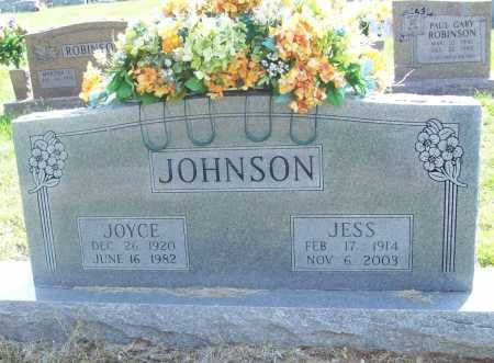 JOHNSON, JESS - Benton County, Arkansas | JESS JOHNSON - Arkansas Gravestone Photos