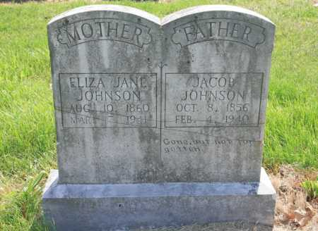 JOHNSON, ELIZA JANE - Benton County, Arkansas | ELIZA JANE JOHNSON - Arkansas Gravestone Photos