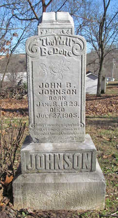JOHNSON, JOHN B - Benton County, Arkansas | JOHN B JOHNSON - Arkansas Gravestone Photos