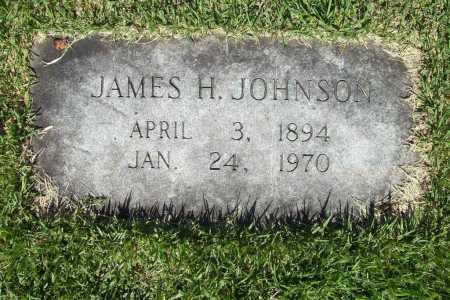 JOHNSON, JAMES H. - Benton County, Arkansas | JAMES H. JOHNSON - Arkansas Gravestone Photos