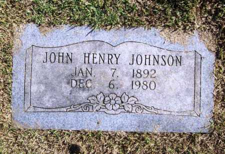 JOHNSON, JOHN HENRY - Benton County, Arkansas | JOHN HENRY JOHNSON - Arkansas Gravestone Photos