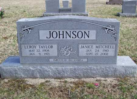 JOHNSON, JANICE - Benton County, Arkansas | JANICE JOHNSON - Arkansas Gravestone Photos