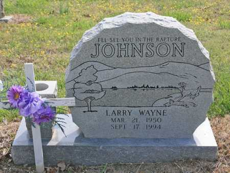 JOHNSON, LARRY WAYNE - Benton County, Arkansas | LARRY WAYNE JOHNSON - Arkansas Gravestone Photos