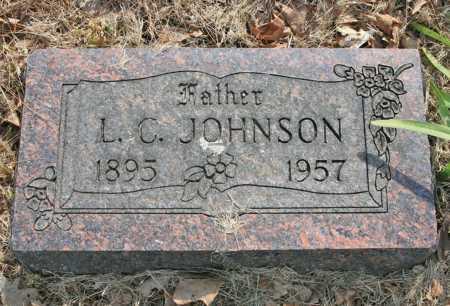 JOHNSON, L. C. - Benton County, Arkansas | L. C. JOHNSON - Arkansas Gravestone Photos