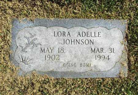 JOHNSON, LORA ADELLE - Benton County, Arkansas | LORA ADELLE JOHNSON - Arkansas Gravestone Photos