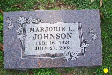 JOHNSON, MARJORIE L. - Benton County, Arkansas | MARJORIE L. JOHNSON - Arkansas Gravestone Photos