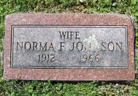 JOHNSON, NORMA F. - Benton County, Arkansas | NORMA F. JOHNSON - Arkansas Gravestone Photos