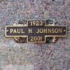 JOHNSON, PAUL H. - Benton County, Arkansas | PAUL H. JOHNSON - Arkansas Gravestone Photos