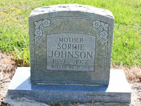 GUYLL JOHNSON, SOPHIE - Benton County, Arkansas | SOPHIE GUYLL JOHNSON - Arkansas Gravestone Photos
