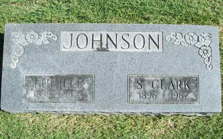 JOHNSON, S. CLARK - Benton County, Arkansas | S. CLARK JOHNSON - Arkansas Gravestone Photos