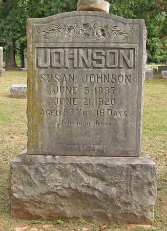 JOHNSON, SUSAN - Benton County, Arkansas | SUSAN JOHNSON - Arkansas Gravestone Photos
