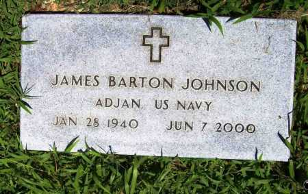 JOHNSON (VETERAN), JAMES BARTON - Benton County, Arkansas | JAMES BARTON JOHNSON (VETERAN) - Arkansas Gravestone Photos