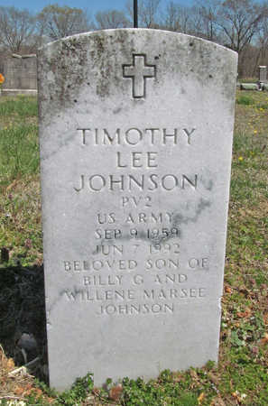 JOHNSON (VETERAN), TIMOTHY LEE - Benton County, Arkansas | TIMOTHY LEE JOHNSON (VETERAN) - Arkansas Gravestone Photos