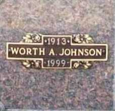 JOHNSON, WORTH A. - Benton County, Arkansas | WORTH A. JOHNSON - Arkansas Gravestone Photos