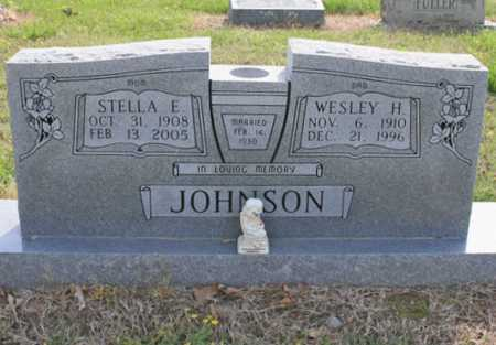 JOHNSON, WESLEY H. - Benton County, Arkansas | WESLEY H. JOHNSON - Arkansas Gravestone Photos