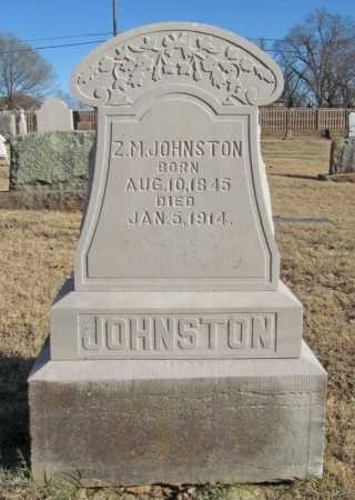JOHNSTON, Z. M. - Benton County, Arkansas | Z. M. JOHNSTON - Arkansas Gravestone Photos