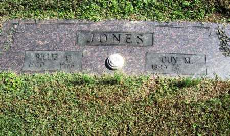 JONES, BILLIE D. - Benton County, Arkansas | BILLIE D. JONES - Arkansas Gravestone Photos