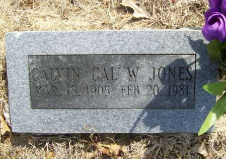 "JONES, CALVIN W. ""CAL"" - Benton County, Arkansas 