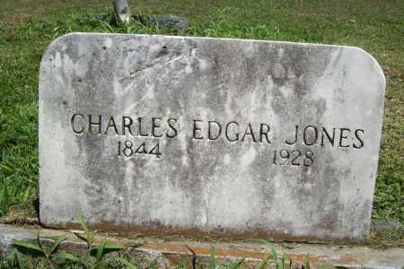 JONES, CHARLES EDGAR - Benton County, Arkansas | CHARLES EDGAR JONES - Arkansas Gravestone Photos