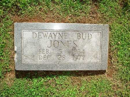 "JONES, DEWAYNE ""BUD"" - Benton County, Arkansas 