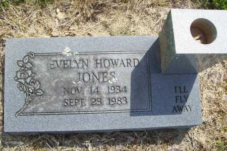HOWARD JONES, EVELYN - Benton County, Arkansas | EVELYN HOWARD JONES - Arkansas Gravestone Photos