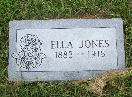JONES, ELLA - Benton County, Arkansas | ELLA JONES - Arkansas Gravestone Photos