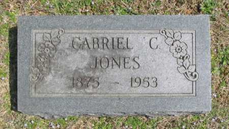 JONES, GABRIEL C. - Benton County, Arkansas | GABRIEL C. JONES - Arkansas Gravestone Photos