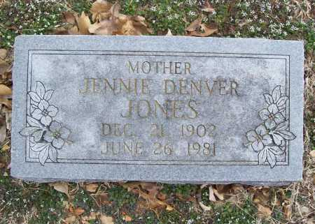 JONES, JENNIE - Benton County, Arkansas | JENNIE JONES - Arkansas Gravestone Photos