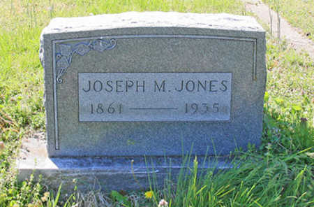 JONES, JOSEPH M - Benton County, Arkansas | JOSEPH M JONES - Arkansas Gravestone Photos