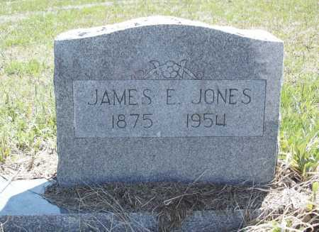 JONES, JAMES E. - Benton County, Arkansas | JAMES E. JONES - Arkansas Gravestone Photos