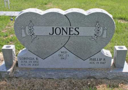 JONES, LORINDA KATHRYN - Benton County, Arkansas | LORINDA KATHRYN JONES - Arkansas Gravestone Photos
