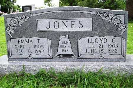 JONES, LLOYD C. - Benton County, Arkansas | LLOYD C. JONES - Arkansas Gravestone Photos