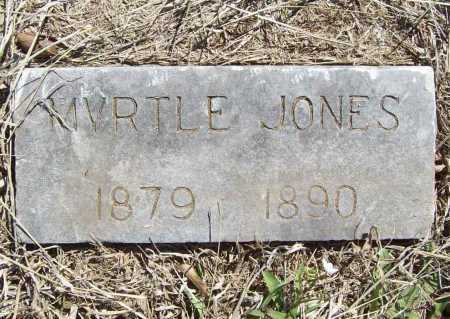JONES, MYRTLE - Benton County, Arkansas | MYRTLE JONES - Arkansas Gravestone Photos