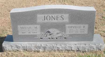 JONES, ORVILLE R. - Benton County, Arkansas | ORVILLE R. JONES - Arkansas Gravestone Photos