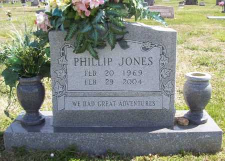 JONES, PHILLIP PATRICK VANCE - Benton County, Arkansas | PHILLIP PATRICK VANCE JONES - Arkansas Gravestone Photos