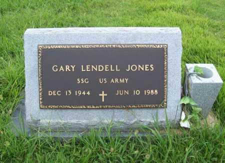 JONES (VETERAN), GARY LENDELL - Benton County, Arkansas | GARY LENDELL JONES (VETERAN) - Arkansas Gravestone Photos