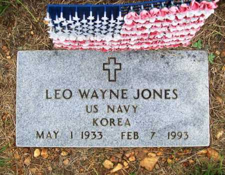JONES (VETERAN KOR), LEO WAYNE - Benton County, Arkansas | LEO WAYNE JONES (VETERAN KOR) - Arkansas Gravestone Photos