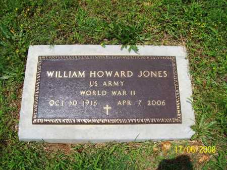 JONES (VETERAN WWII), WILLIAM HOWARD - Benton County, Arkansas | WILLIAM HOWARD JONES (VETERAN WWII) - Arkansas Gravestone Photos