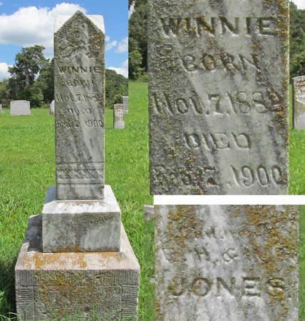 JONES, WINNIE - Benton County, Arkansas | WINNIE JONES - Arkansas Gravestone Photos